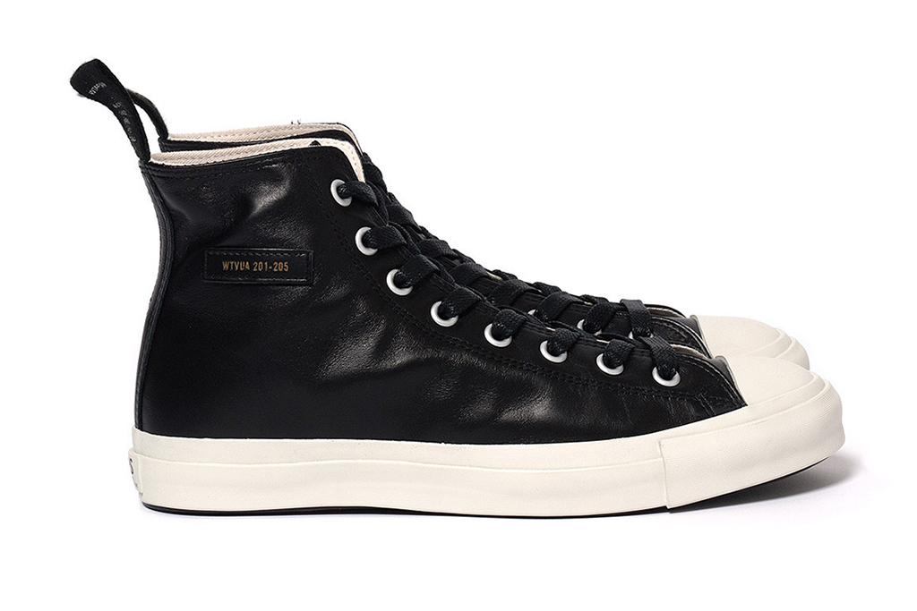 wtaps 2012 fall winter leather sneakers
