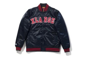 XLARGE x Majestic Reversible Baseball Jacket
