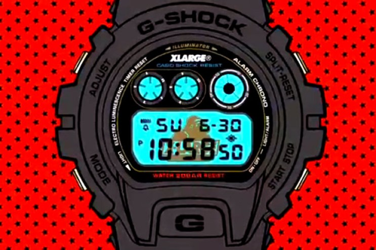 XLARGE x X-girl x Casio G-Shock DW-6900