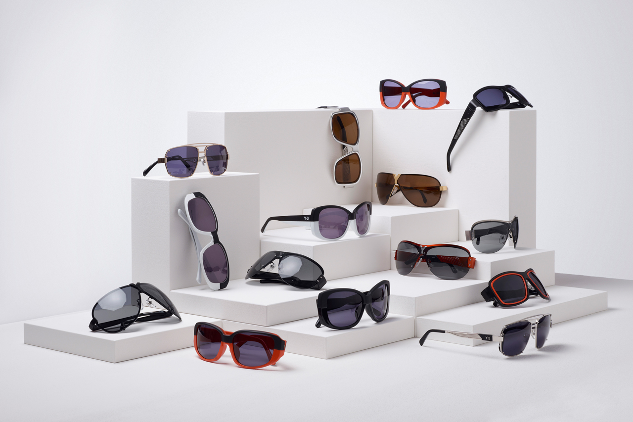 y 3 x linda farrow 2013 spring summer eyewear collection