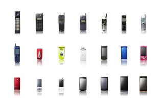 25 Years of Cell Phone History