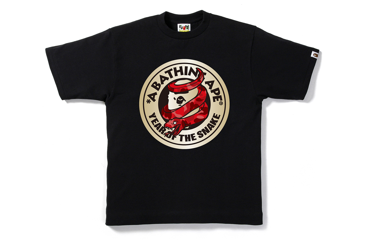 """A Bathing Ape 2013 """"Year of Snake"""" Collection"""