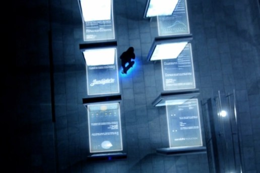 """A Glowing Skateboard and Helicopter Cams Combine to Create """"FIREFLY"""""""