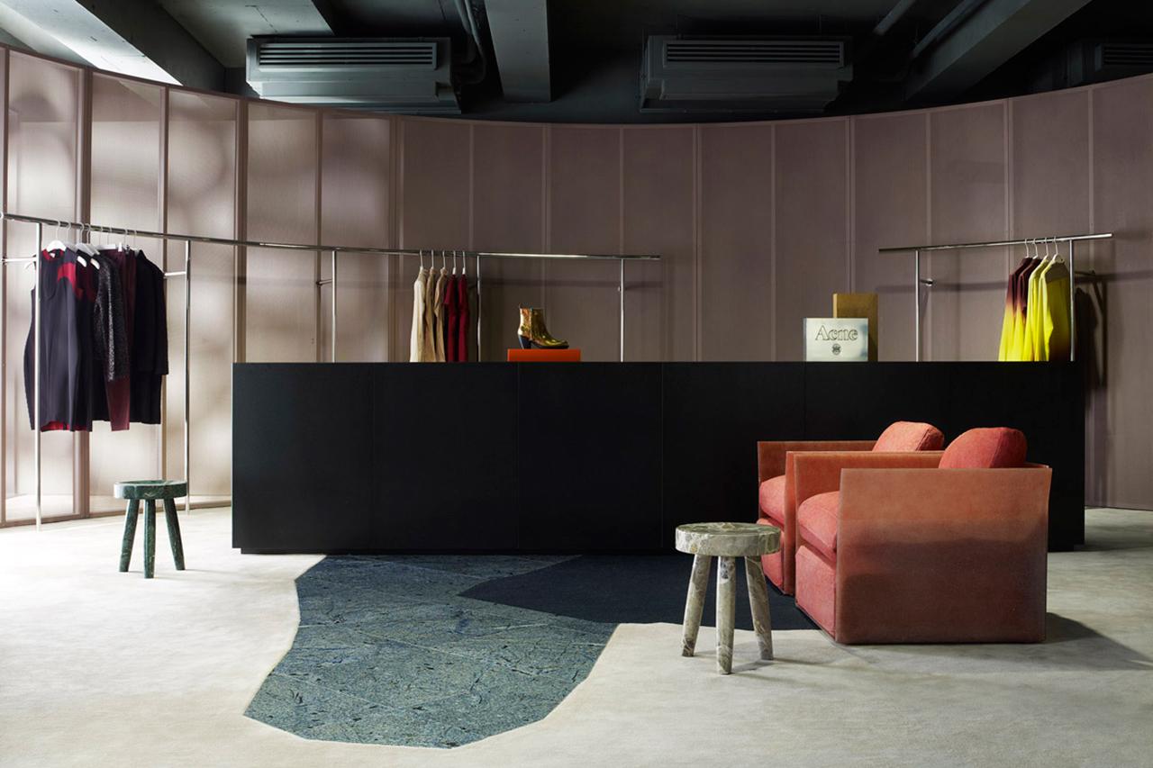 a look inside acne studios aoyama