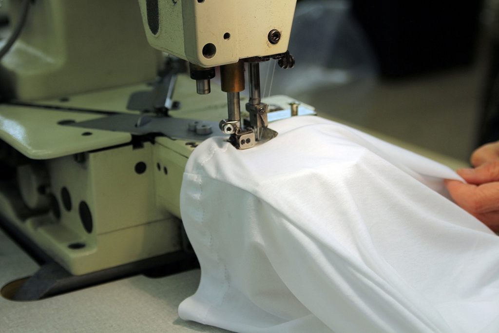 A Look Inside the Production of Sunspel's Sea Island Cotton Collection