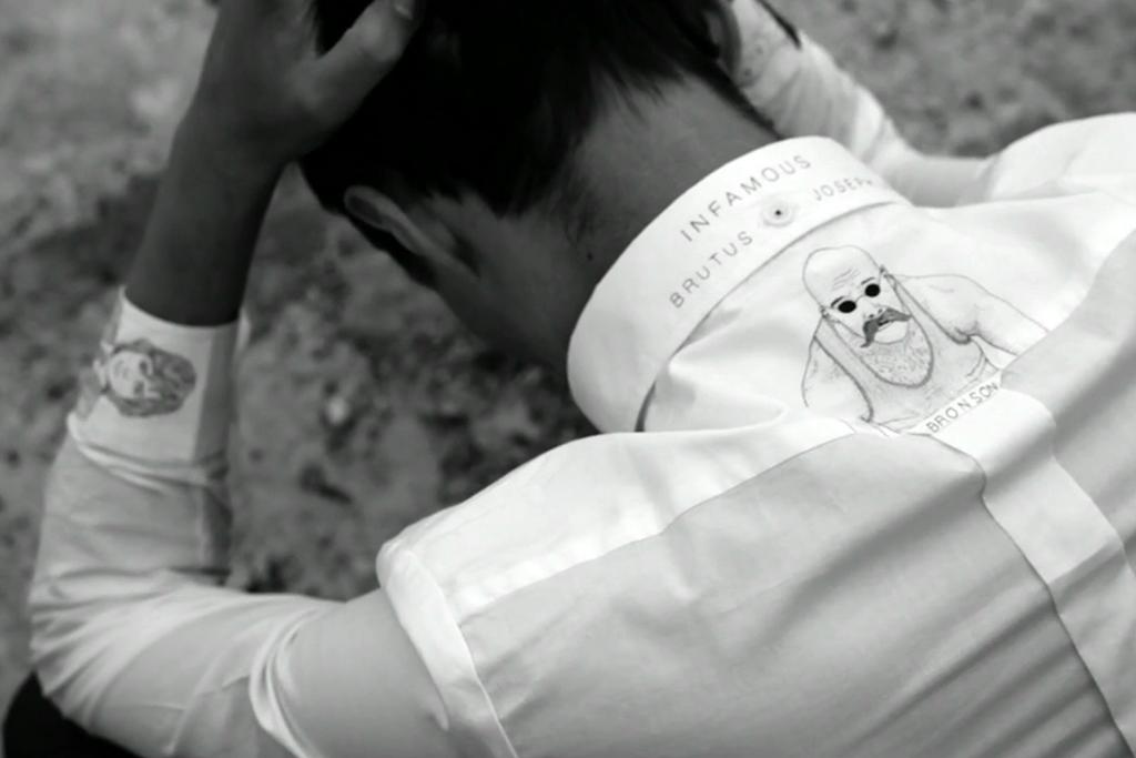 A Video of Illustrator Joseph Long's Shirts for BRUTUS
