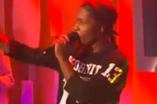 """A$AP Rocky Debuts """"Long.Live.A$AP"""" on RapFix Live"""