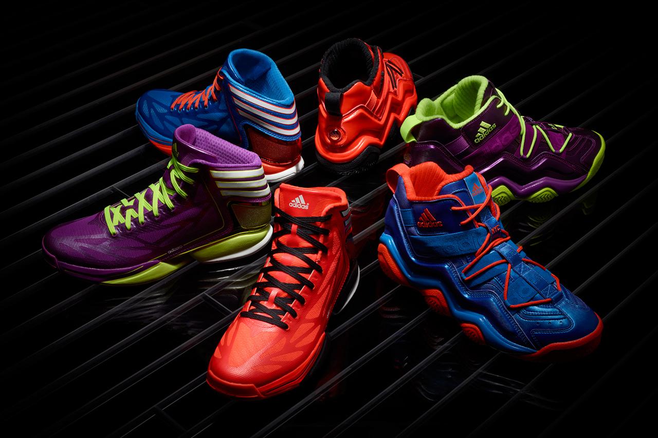"adidas Basketball 2012 Holiday ""Bright Lights - Big City"" Pack"