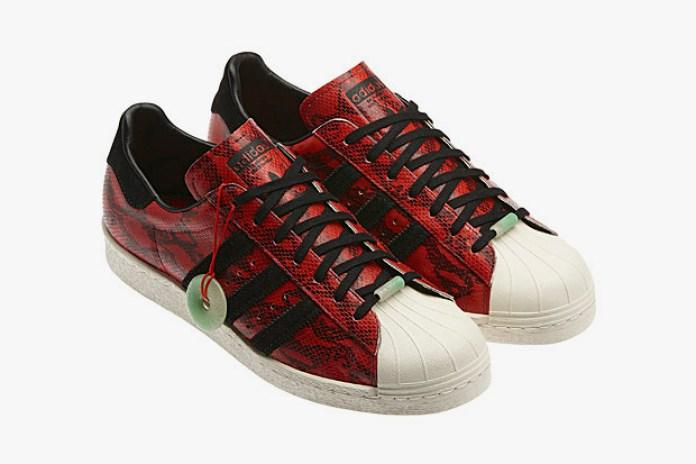 "adidas Originals Superstar 80s ""Chinese New Year"""