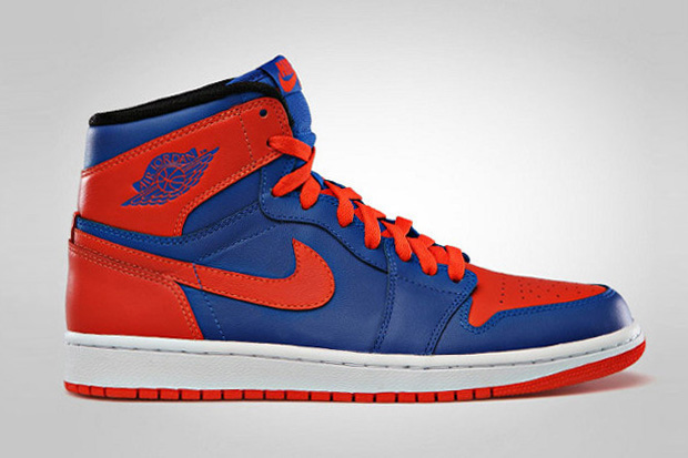 "Air Jordan 1 Retro High ""Knicks"""