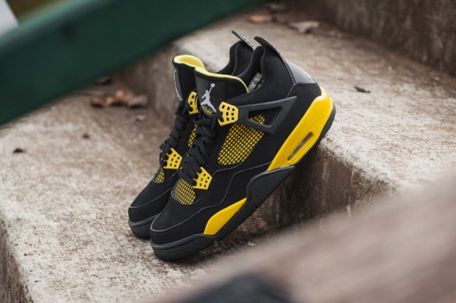 "Air Jordan IV 2012 ""Thunder"" Retro"