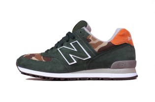"Ball and Buck x New Balance 2012 Winter US574 ""Mountain Green"""
