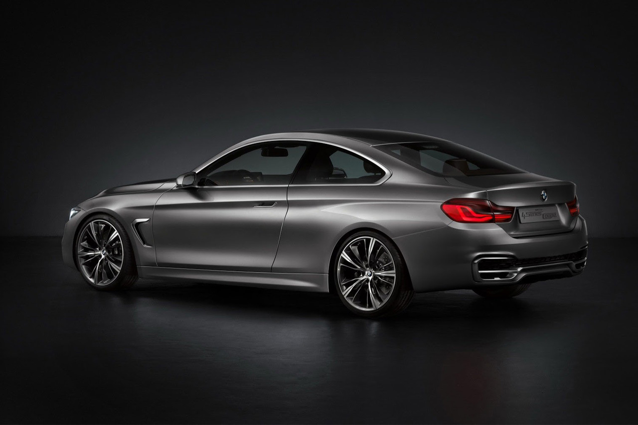 bmw unveils 4 series coupe concept