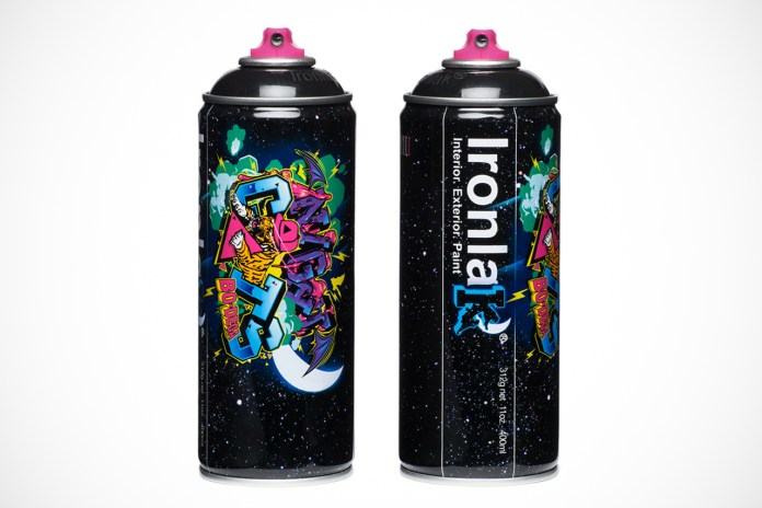 "Bodega x Ironlak Paints ""Murdered Out"" Can"