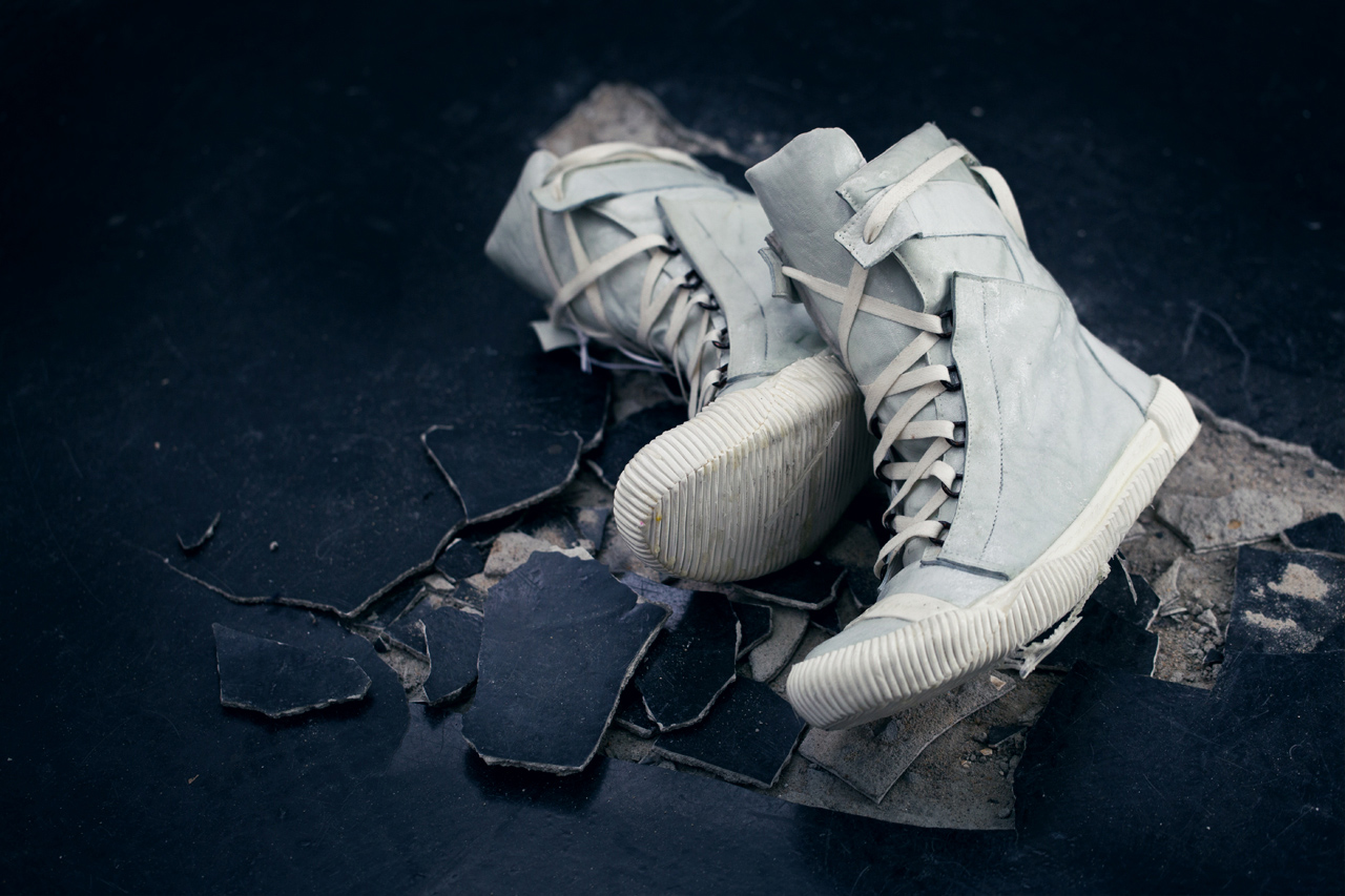 boris bidjan saberi 2012 fall winter bamba3 f240 hi top sneaker