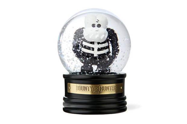 BOUNTY HUNTER Skull-Kun Snow Dome