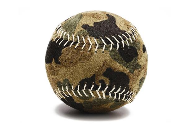 Camo Baseballs a Reality Courtesy of Bergino Handmade Baseballs