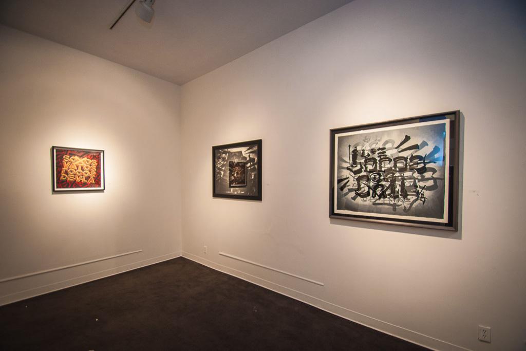 "Chaz Bojorquez ""End of the World"" @ Plaza De La Raza/Boathouse Gallery"