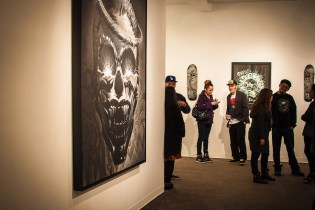 "Chaz Bojorquez ""End of the World"" @ Plaza De La Raza/Boathouse Gallery"