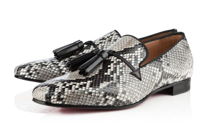 Christian Louboutin 2012 Holiday Snakeskin Daddy Flat