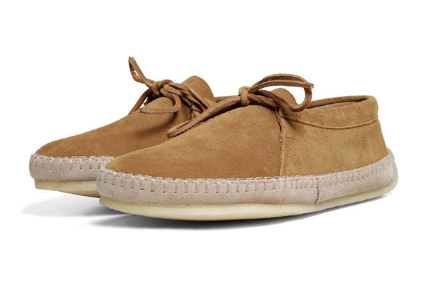 clarks originals drille mode cognac