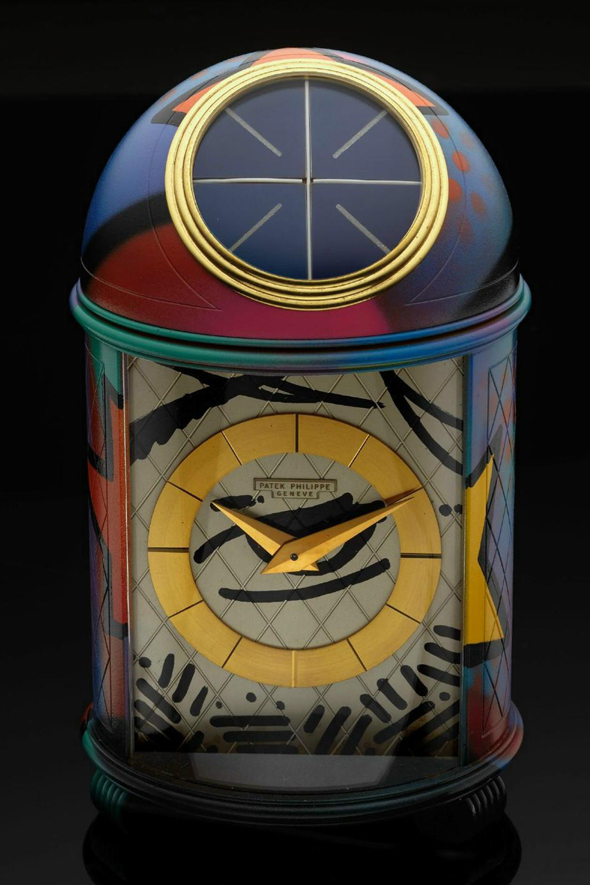 crash x patek philippe dome clock