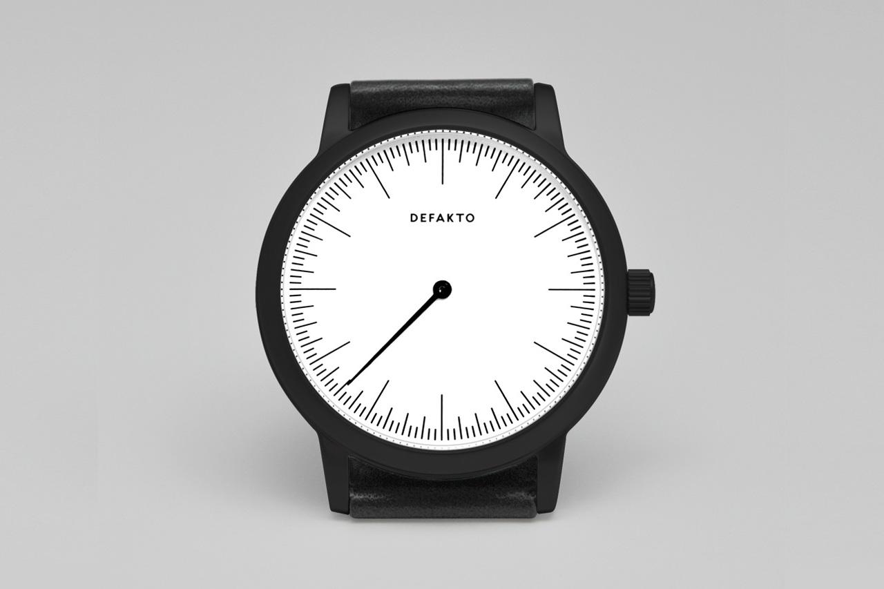 Defakto PVD-Coated Steel Detail Watch