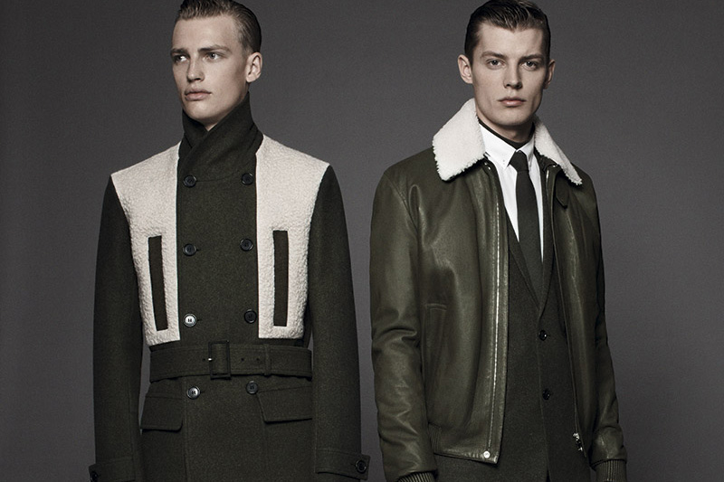 """Dior Homme """"les essentiels 4"""" Shearling Jackets"""