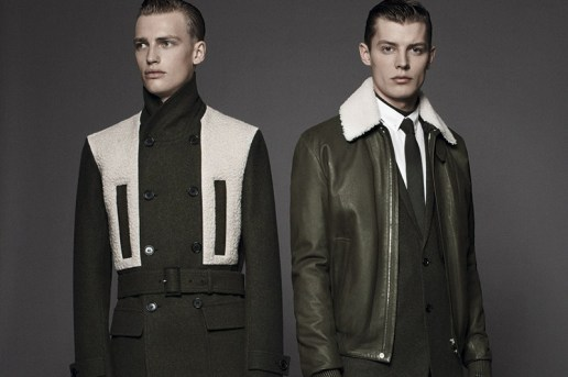 "Dior Homme ""les essentiels 4"" Shearling Jackets"