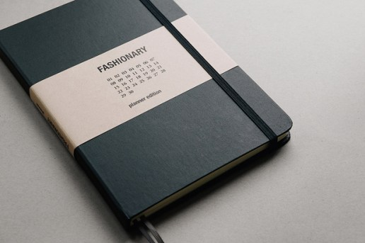 Fashionary Planner - The 1st Planner with Extensive Fashion Information