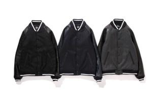 fragment design x Stussy Varsity Jacket