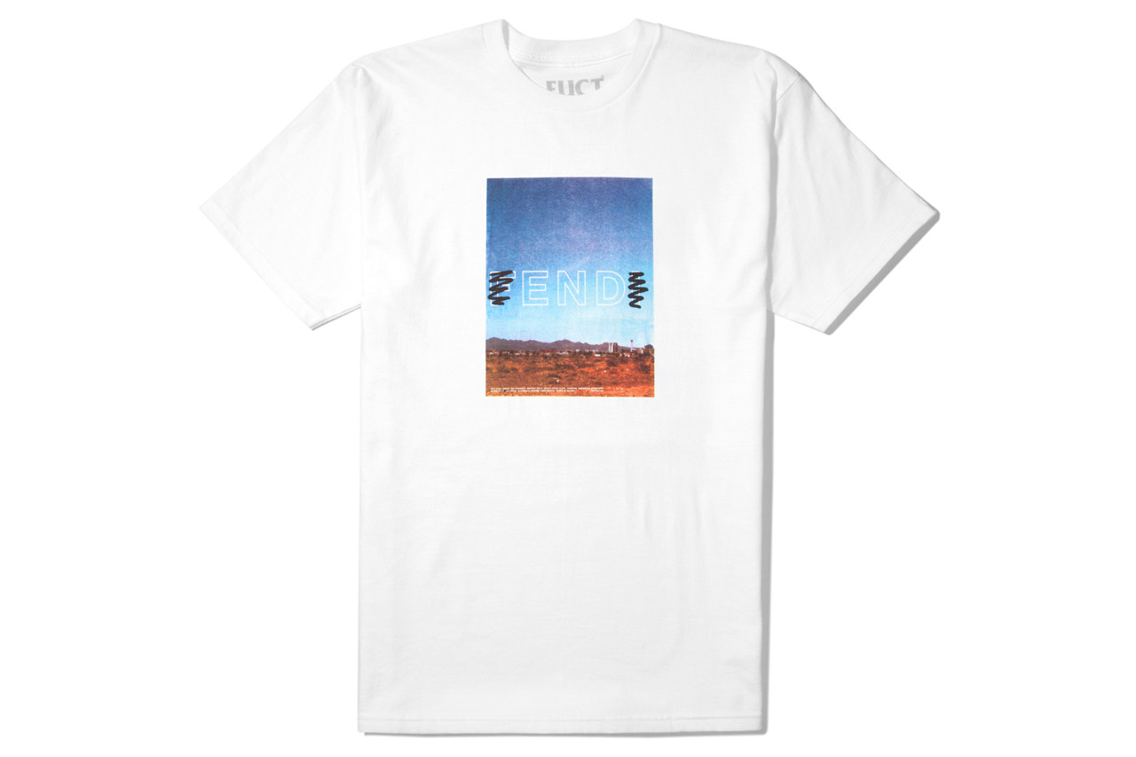 """FUCT 2012 Fall/Winter """"END"""" T-Shirt"""