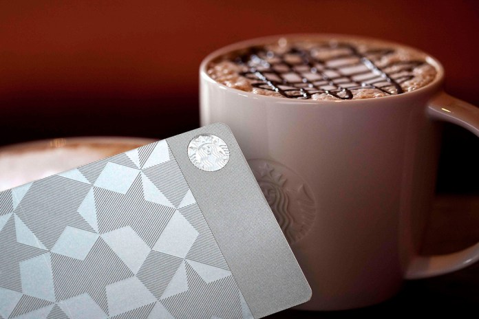 Gilt and Starbucks Launch the First Ever Metal Starbucks Rewards Card