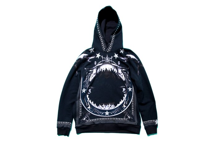 Givenchy 2012 Fall/Winter Shark-Print Hoodie