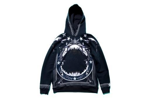 Givenchy 2012 Fall/Winter Shark-Print Hoodie