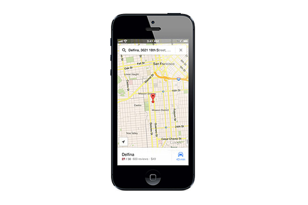 Google Maps Returns to the iPhone