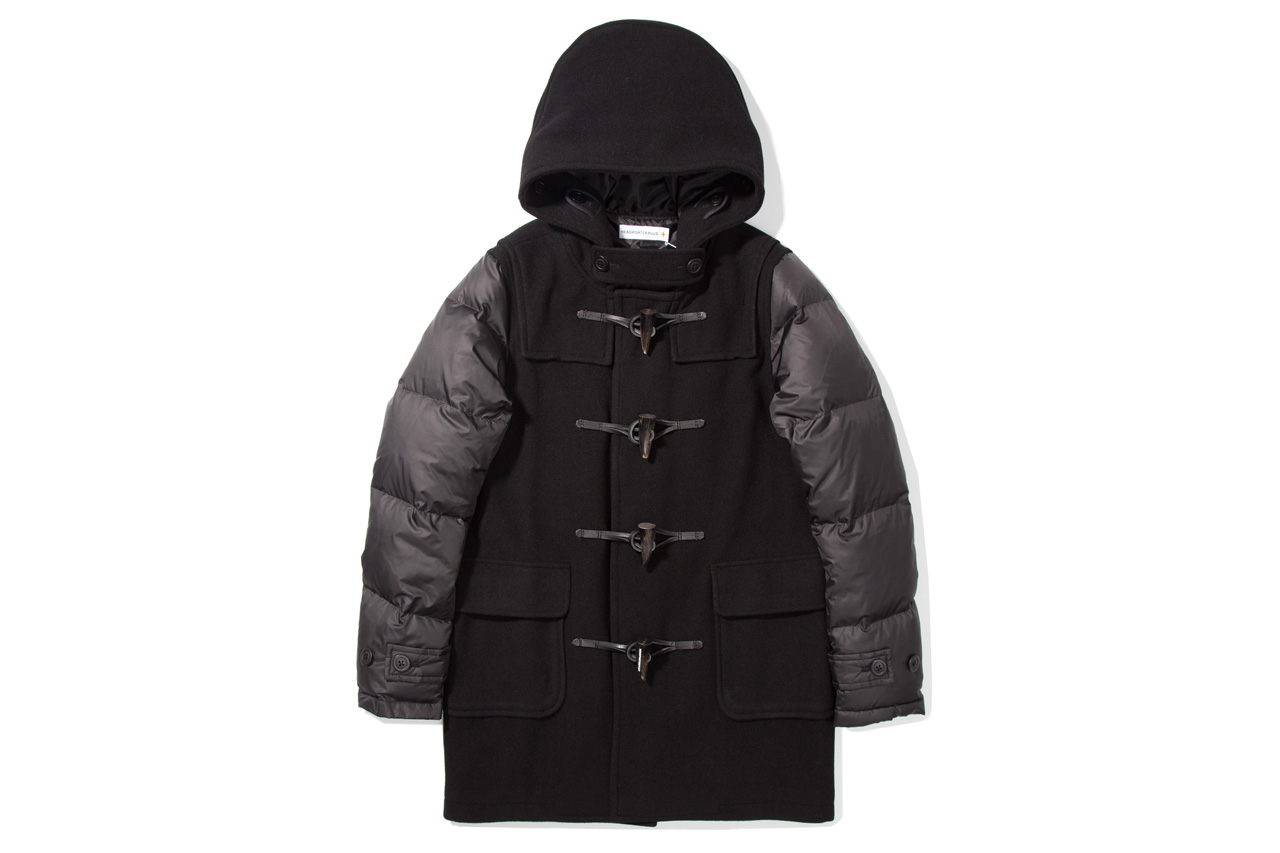 Head Porter Plus 2012 Fall/Winter Black Down Duffle Coat