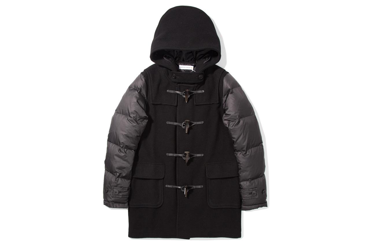 Head Porter Plus 2012 Fall/Winter Black Down Duffle Coat