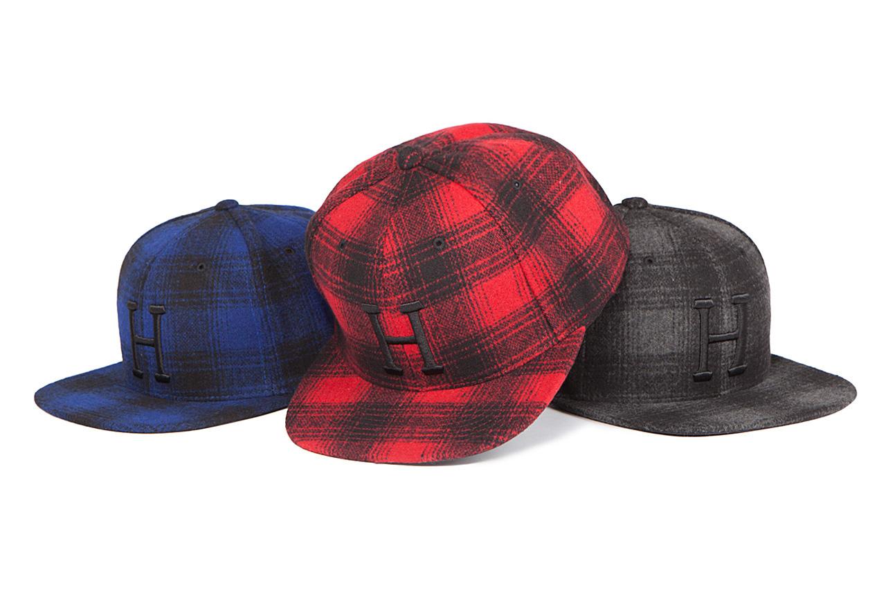 HUF 2012 Fall/Winter December New Headwear Releases