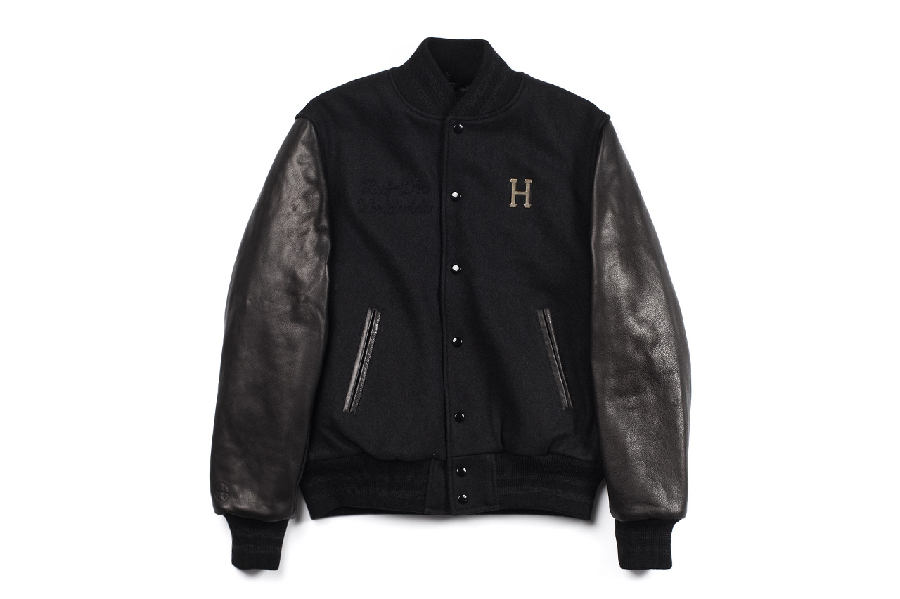 HUF x Golden Bear Deluxe Varsity Jacket