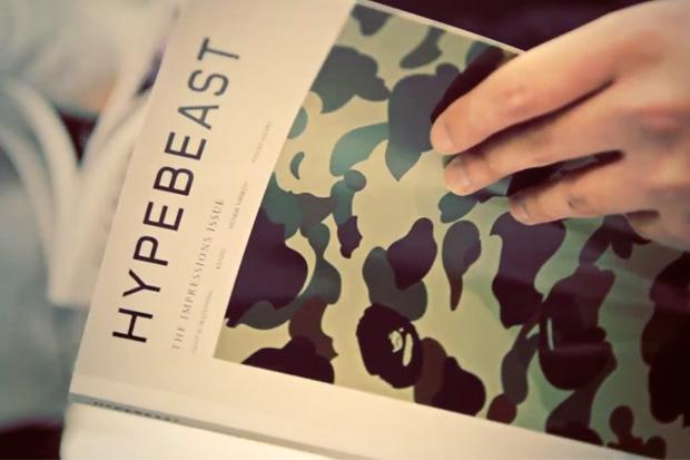 HYPEBEAST Magazine Issue 3 Launch Event Video Recap @ BAPE STORE London