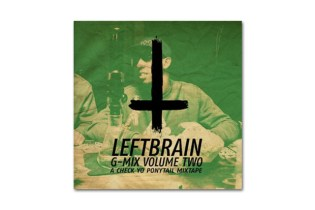 HYPETRAK Premiere: Left Brain – G-Mix Volume 2 (A Check Yo' Ponytail Mixtape)
