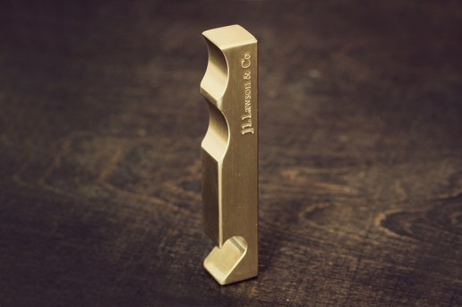 J.L. Lawson & Co. Brass VII Bottle Opener