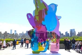 Jeff Koons Exhibition @ Gagosian Gallery Beverly Hills