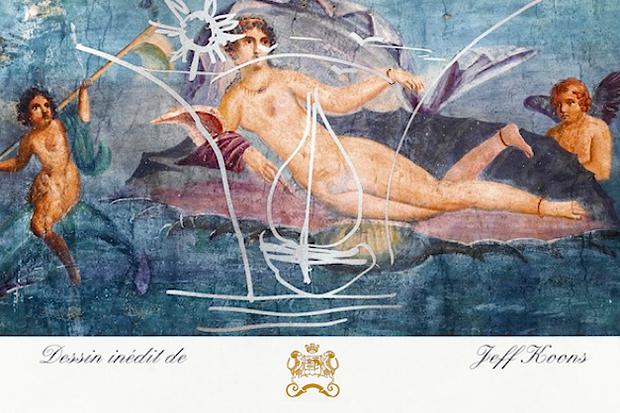 Jeff Koons x Chateau Mouton Rothschild Bottle