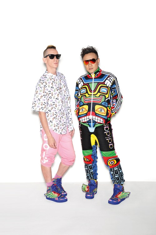 Jeremy Scott and Eason Chan Showcase Their New Collaborative JS Wings