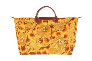 "Jeremy Scott x Longchamp Pliage ""Leopard Flourish"" Bag"