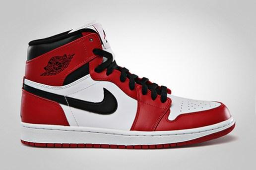 Jordan Brand To Release OG Colorway Air Jordan 1 Retro High White/Varsity Red - Black