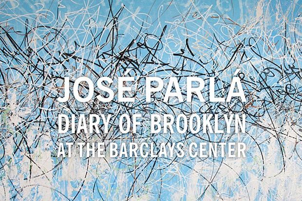 José Parlá 'Diary of Brooklyn' @ The Barclays Center