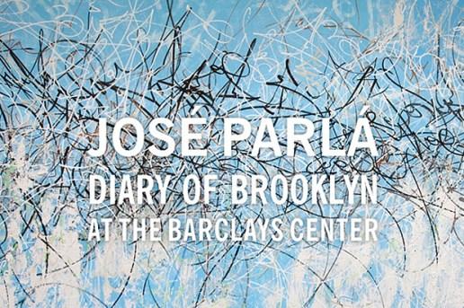 José Parlá 'Diary of Brooklyn' @ The Barclays Center